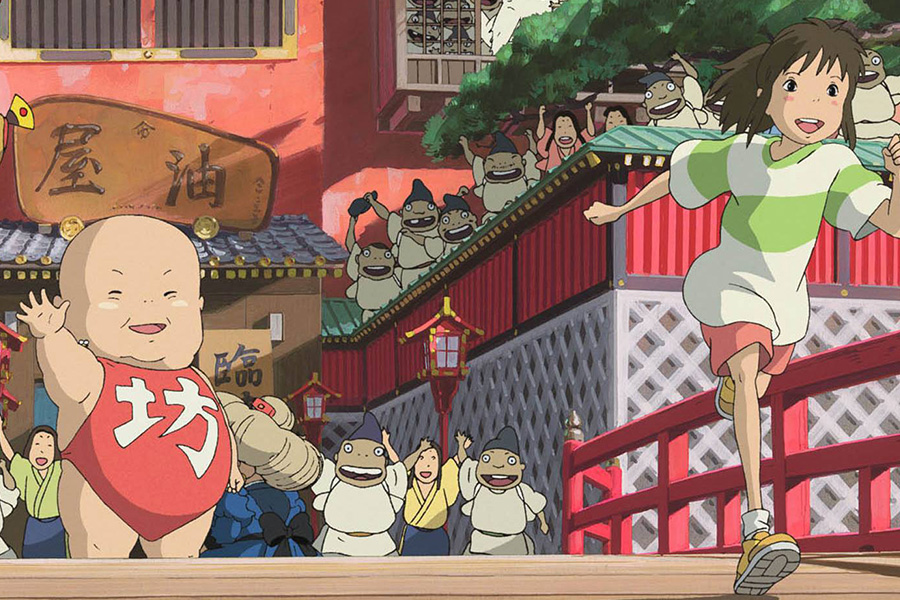 Spirited Away won the academy awards in 2003.